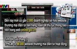 Nhiều website thương mại điện tử có nguy cơ bị phạt