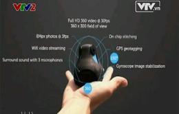 Máy quay 360 độ đầu tiên trên thế giới
