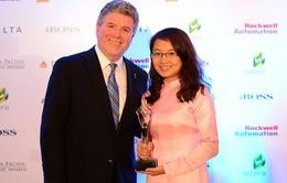 Viettel nhận giải thưởng quốc tế Stevie Awards 2014