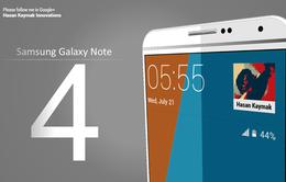 """Galaxy Note 4 lộ cấu hình """"khủng"""""""