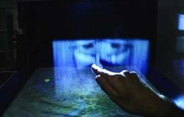 Màn hình 3D tương tác từ sương mù