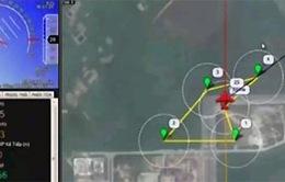 Mô hình máy bay không người lái trong tìm kiếm cứu hộ