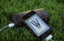 Sạc điện thoại từ ví thông minh