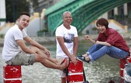"""Vũ Ngọc Đãng: Chơi Facebook khi làm phim """"Vừa đi vừa khóc"""""""