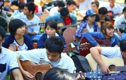 1000 người chơi đàn guitar hưởng ứng Giờ Trái đất 2014