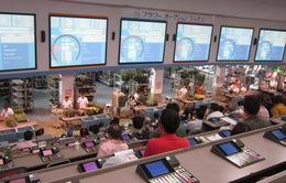 Sàn đấu giá hoa tươi hiện đại và thân thiện môi trường ở Tokyo