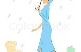 Xinh đẹp xuống phố vào mùa mưa