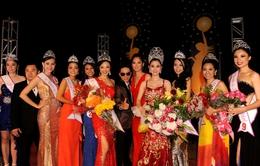Dàn Hoa hậu Việt Nam Toàn cầu 2013 khoe sắc