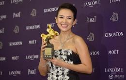 Chương Tử Di thắng lớn tại giải Kim Mã 2013