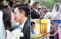 Dương Mịch rạng ngời trong lễ cưới xa hoa