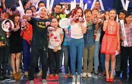 Hương Tràm, Trúc Nhân tập luyện cho minishow