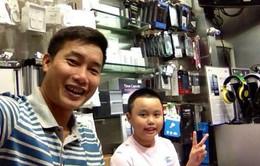 Con trai đáng yêu của BTV Hoa Thanh Tùng