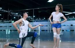 Ngân Khánh trẻ trung tập nhảy Vũ điệu đam mê