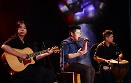 """Liveshow 5 Giọng hát Việt: """"Hot boy"""" Đỗ Thành Nam dừng bước"""