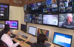 VTV đầu tư nâng cao thiết bị thu phát tín hiệu các kênh nước ngoài