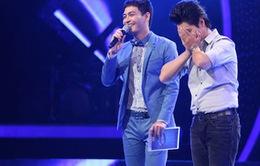 Khoảnh khắc cảm động của thí sinh trên sân khấu Idol