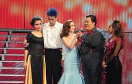 Hoàng Mập vui vẻ rời Bước nhảy Hoàn vũ 2014