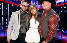 Thí sinh đội Usher đăng quang The Voice Mỹ mùa thứ sáu