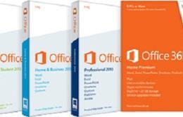 Miễn phí nâng cấp lên phiên bản Office 2013 mới nhất