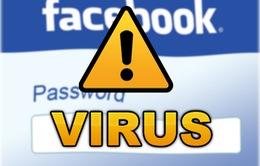 """Xuất hiện virus """"cướp"""" Facebook ở Việt Nam"""
