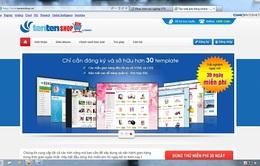 """Tentenshop.vn – """"Chợ"""" trực tuyến mới ra mắt thị trường"""