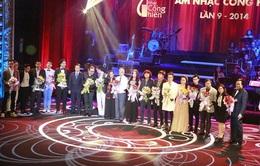 Những khoảnh khắc ấn tượng trong Lễ trao giải Cống hiến 2014