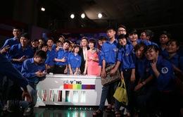 Ấn tượng liveshow đầu tiên vòng chung kết Cầu vồng – MC 2014