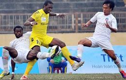 Hà Nội T&T soán ngôi dẫn đầu V-League 2014