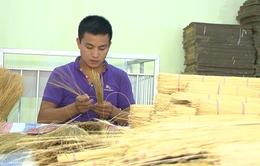 Sinh ra từ làng: Sản xuất tăm tre với doanh thu 3 tỷ/năm (17h20, VTV6)