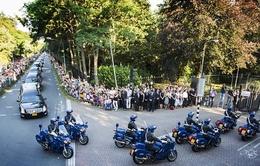 Toàn cảnh lễ đón các nạn nhân trong vụ tai nạn máy bay MH17 tại Hà Lan