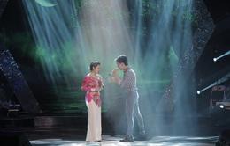 """Cặp đôi Trung Quân - Bảo Trâm """"tình tứ"""" trên sân khấu Sao Mai Điểm hẹn"""