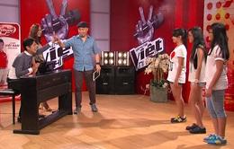 21h, VTV3: Tập 1 vòng Đối đầu Giọng hát Việt nhí
