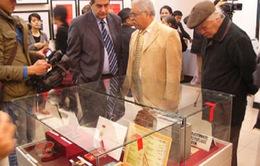 Khai mạc triển lãm kỷ niệm 40 năm ký Hiệp định Paris