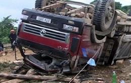 Xét xử sơ thẩm vụ lật  xe gỗ tại Nghệ An