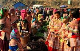 Chợ xuân Cán Cấu - Nét văn hóa vùng cao