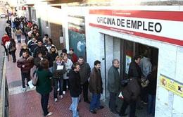 Thất nghiệp tại Tây Ban Nha cao kỷ lục
