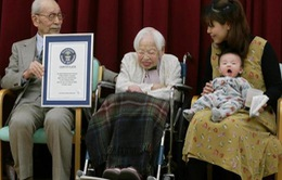 Cụ bà cao tuổi nhất thế giới kỷ niệm sinh nhật thứ 115