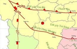 Động đất lại xuất hiện ở Quảng Nam