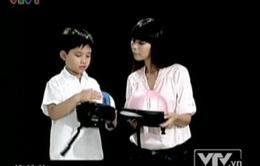 Hướng dẫn đội mũ bảo hiểm cho trẻ em