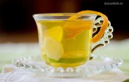 10 loại đồ uống trị cảm lạnh