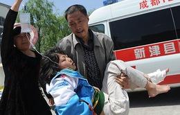 Trung Quốc: Con số thương vong do động đất liên tục tăng