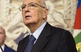 Tổng thống Italia G. Napolitano tái đắc cử