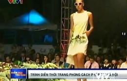 Trình diễn thời trang phong cách Pháp tại Hà Nội