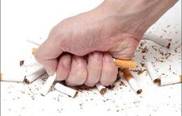Tạm biệt thuốc lá để chào đón năm mới khỏe mạnh