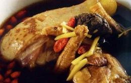 Món ăn thuốc chữa bệnh từ thịt gà