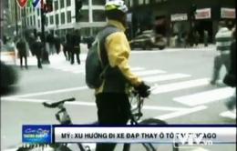 Đi ô tô tốn kém, người Mỹ chuyển hướng đi... xe đạp