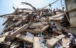 Sập nhà ở Bangladesh: Số người chết tăng hơn 1.000