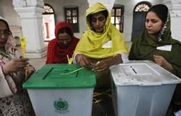 Pakistan: Người dân tích cực tham gia bầu cử