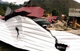 Lào Cai khắc phục hậu quả mưa lốc