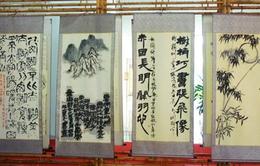 Triển lãm thư pháp thơ chữ Hán của Bác Hồ